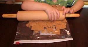 Crushing graham crackers