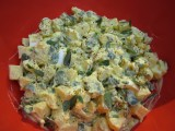 Purslane-Potato Salad