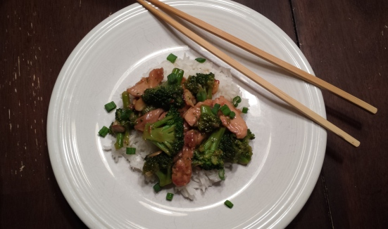 Chicken & Broccoli Stirfry