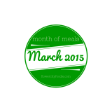 Month of Meals: March 2015