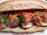 Pork Meatball BahnMi