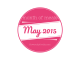 Month of Meals: May2015